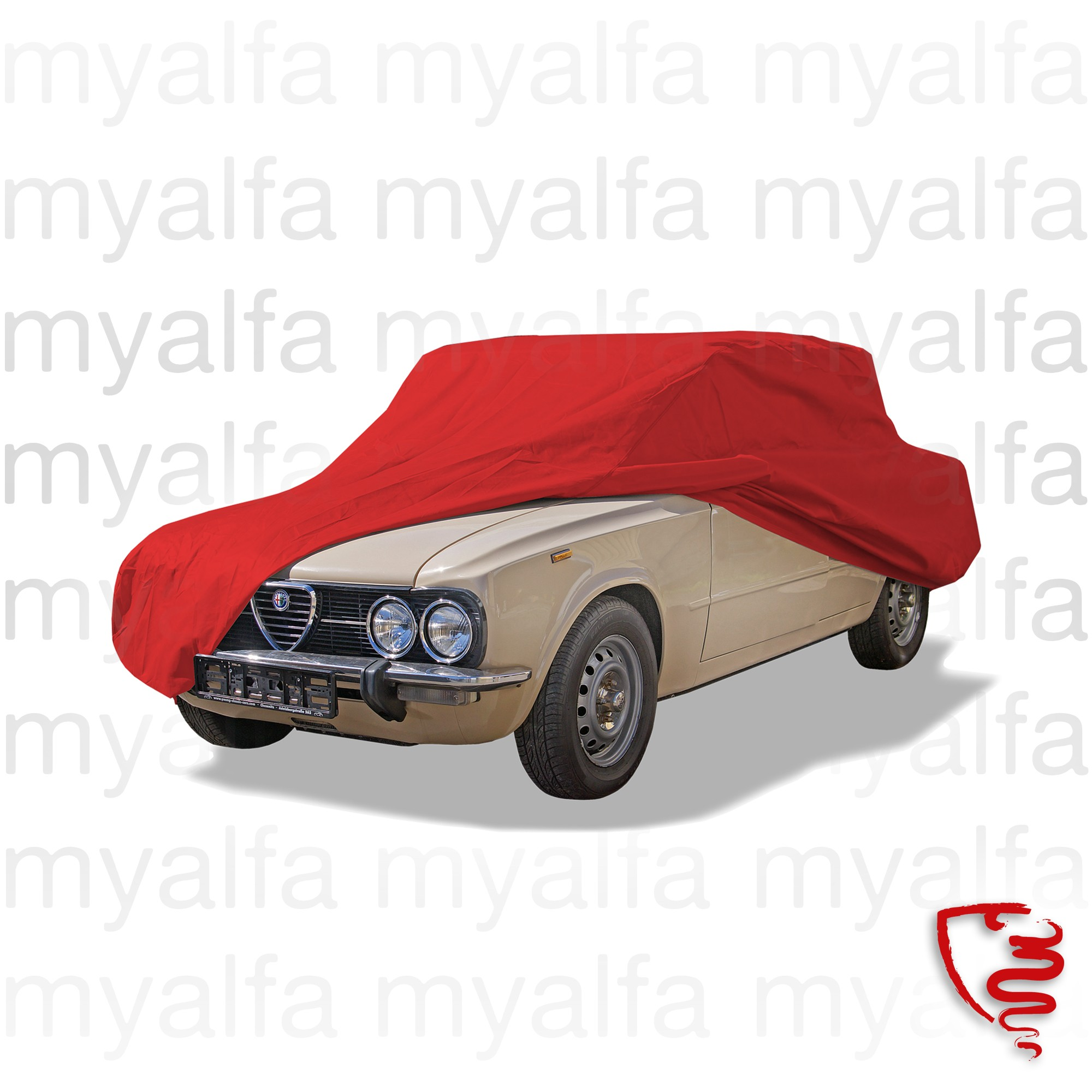 Alfa Romeo CAR COVER GIULIA Redsize Measures Xx M - Alfa romeo car cover