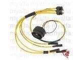 Zündkabelsatz 7mm (entstört)  Vergasermodelle gelb,         Premiumqualität