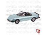 Alfa Romeo Spider Bj.1983-86 azzuro celeste 1:18, Limited Edition