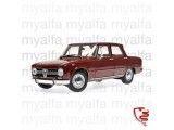 Alfa Romeo Giulia 1300 Bj.1966 donker rood 1:18 Minichamps -  Limited Edition 504 Stuks