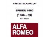 Onderdelencatalogus Spider Bj.66-68, Duetto 1600 (300 blz)