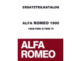 Onderdelenboek  AR 1900     1900/1900 C/1900 TI